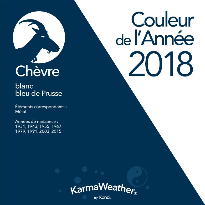 Couleur 2018 Chèvre