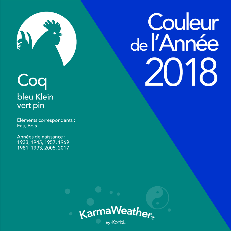 Couleur 2018 Coq