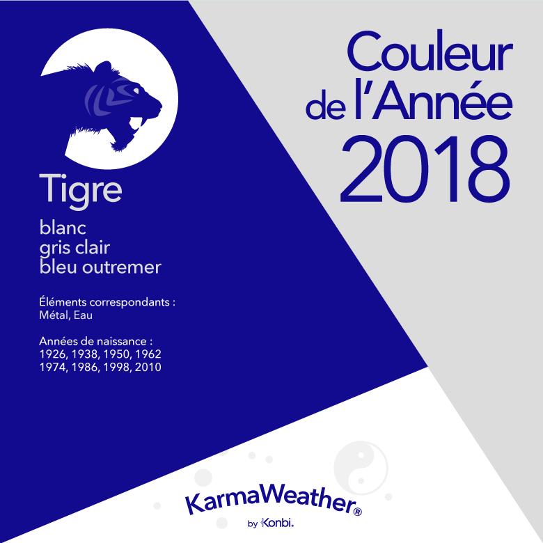 Couleur 2018 Tigre