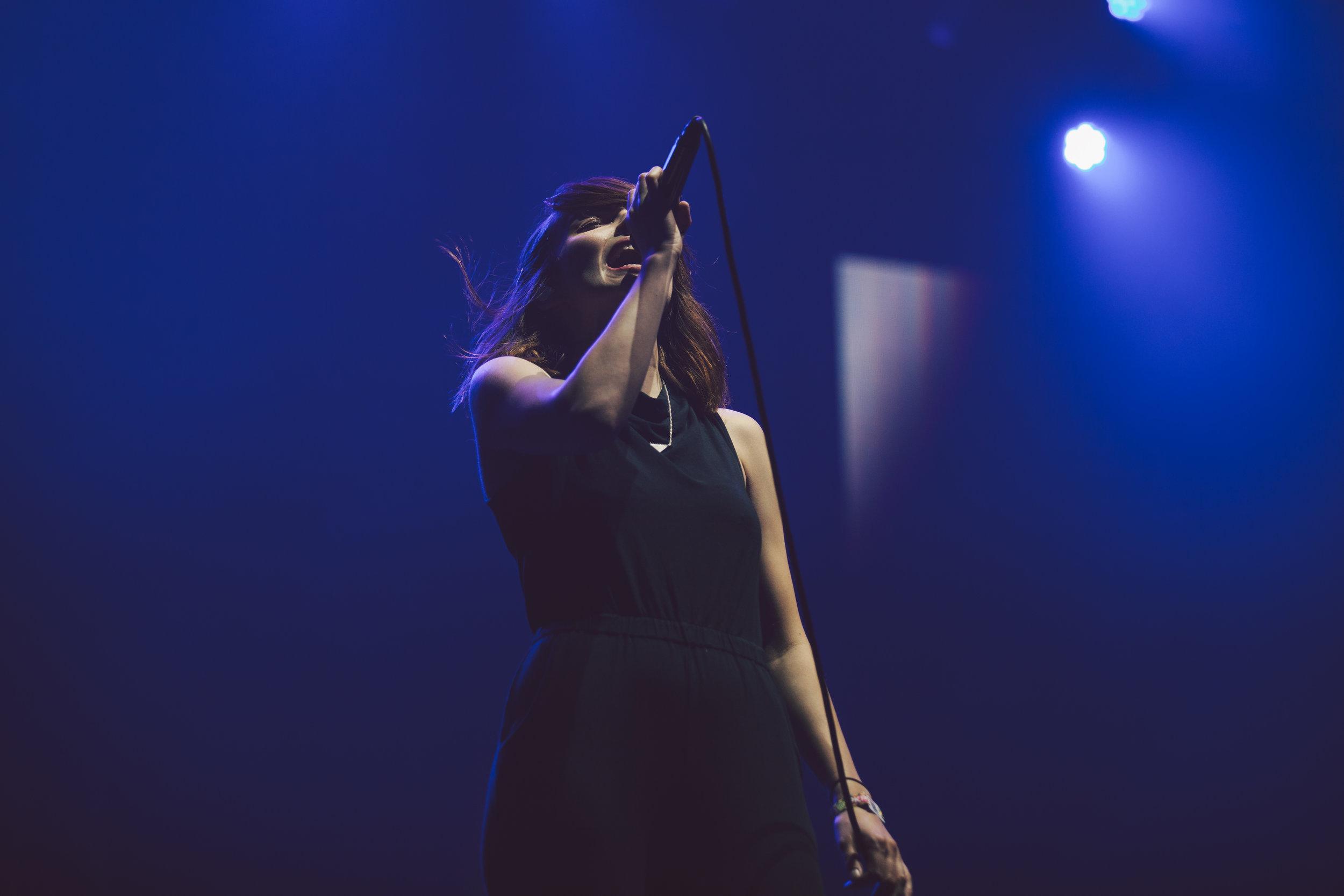 Chvrches:Pukkelpop:18th August 2016:Leah Henson8.jpg