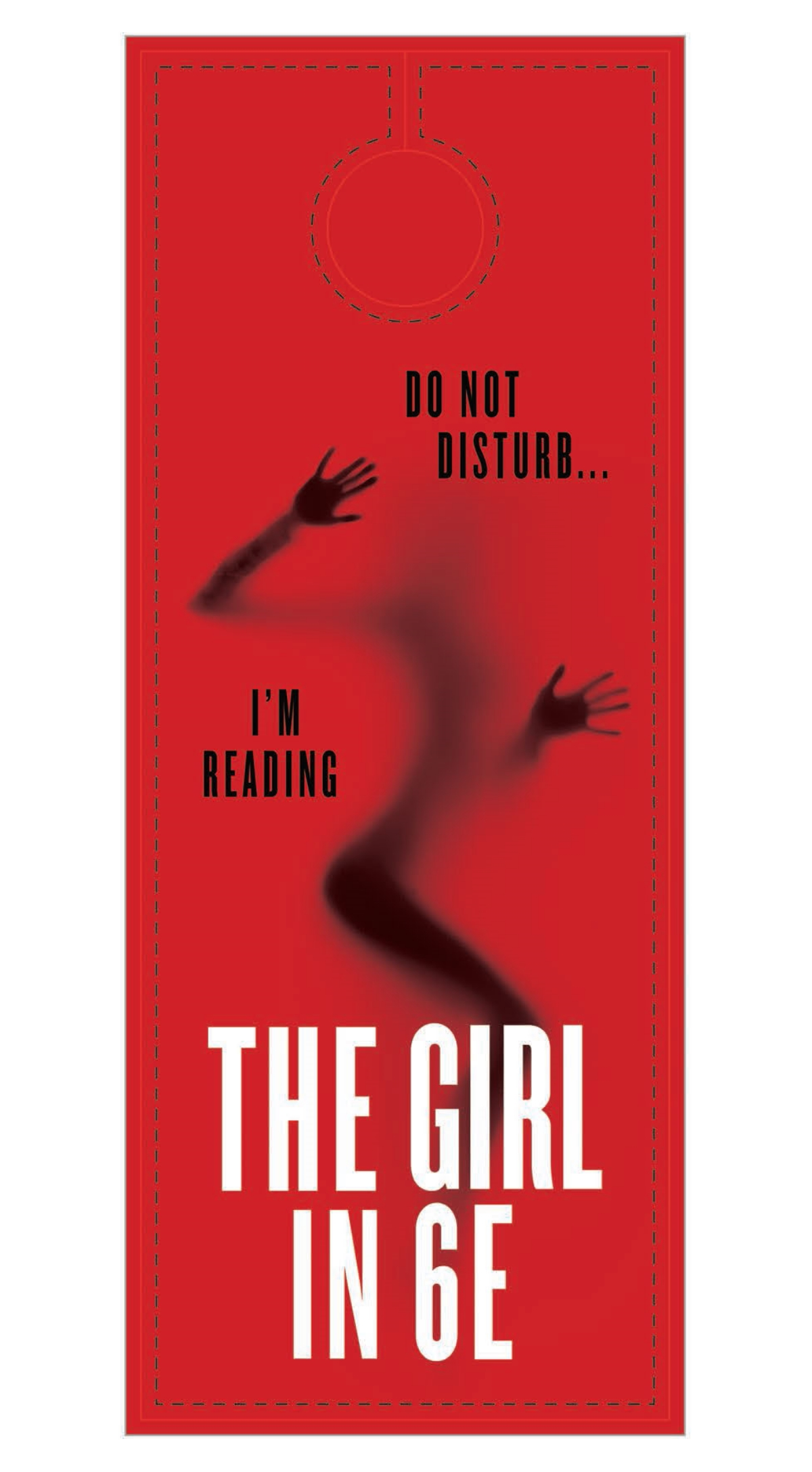 The Girl in 6E door hanger (1/2)