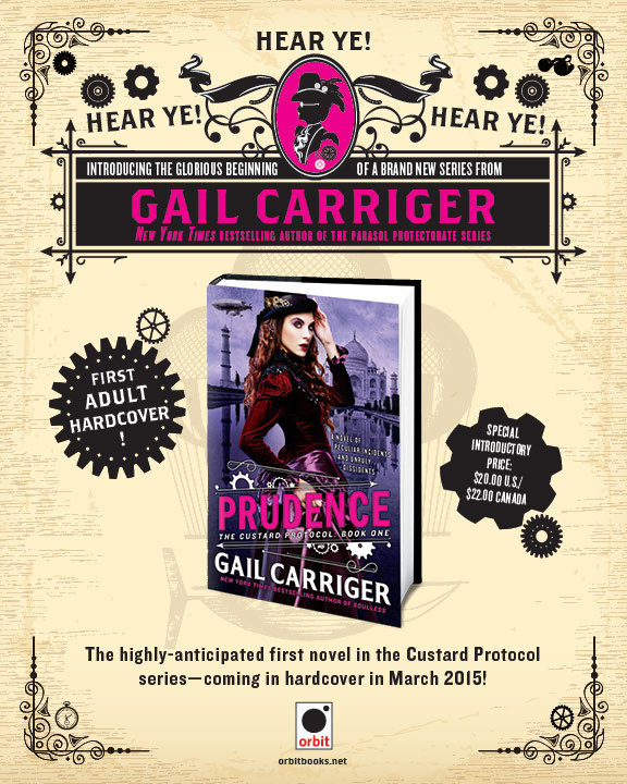 Gail Carriger brochure (1/4)
