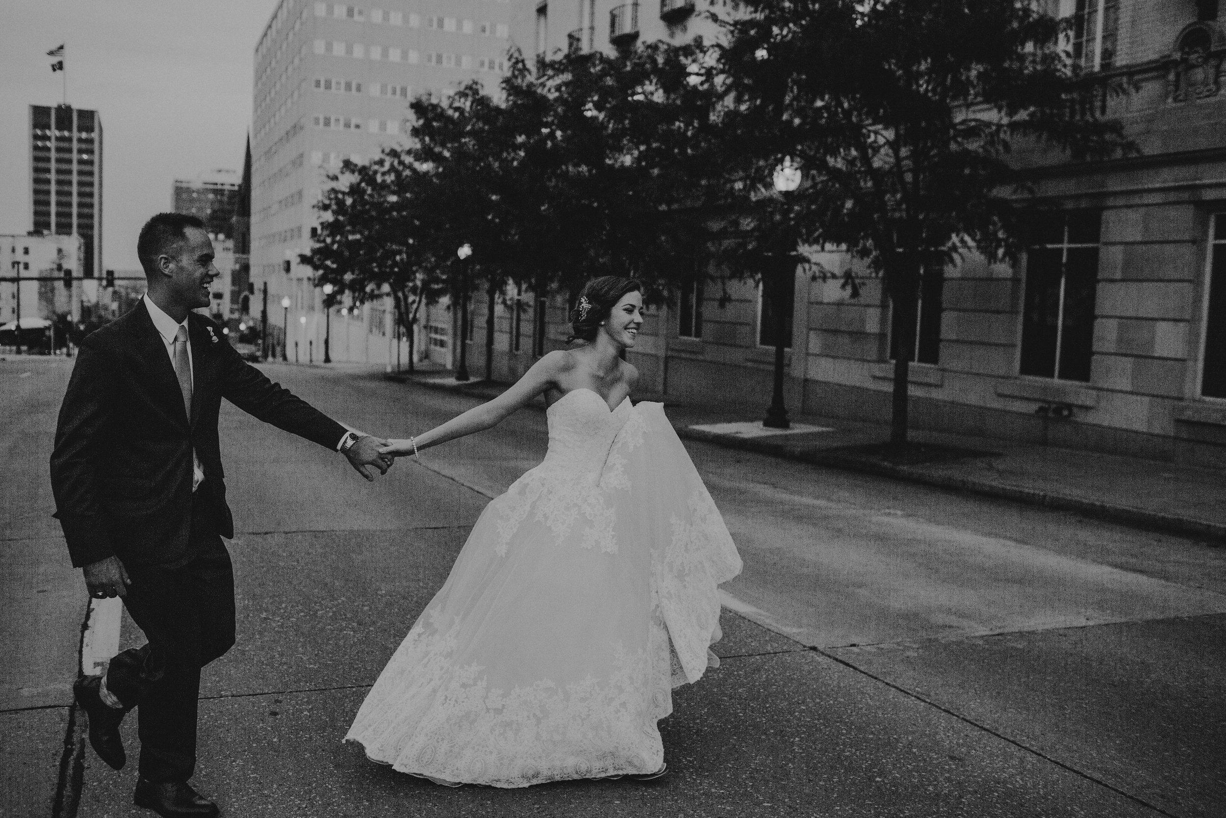 Photographer: Hope Jewell-Vinson  Hotel: Embassy Suites, Old Market  Ceremony; Citylight Benson  Reception: The Scoular Ballroom