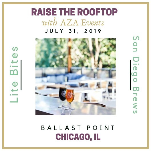 Chicago, have you heard?! 🙌🏼     ✈️ We're coming your way!! 🍻 • • • Come join us at Ballast Point, Chicago for some of San Diego's finest brews, lite bites, and face time with our Arizona and SoCal dream team! • July 31st, 2019 5 - 8 p.m.  RSVP to : ciara@azaevents.com