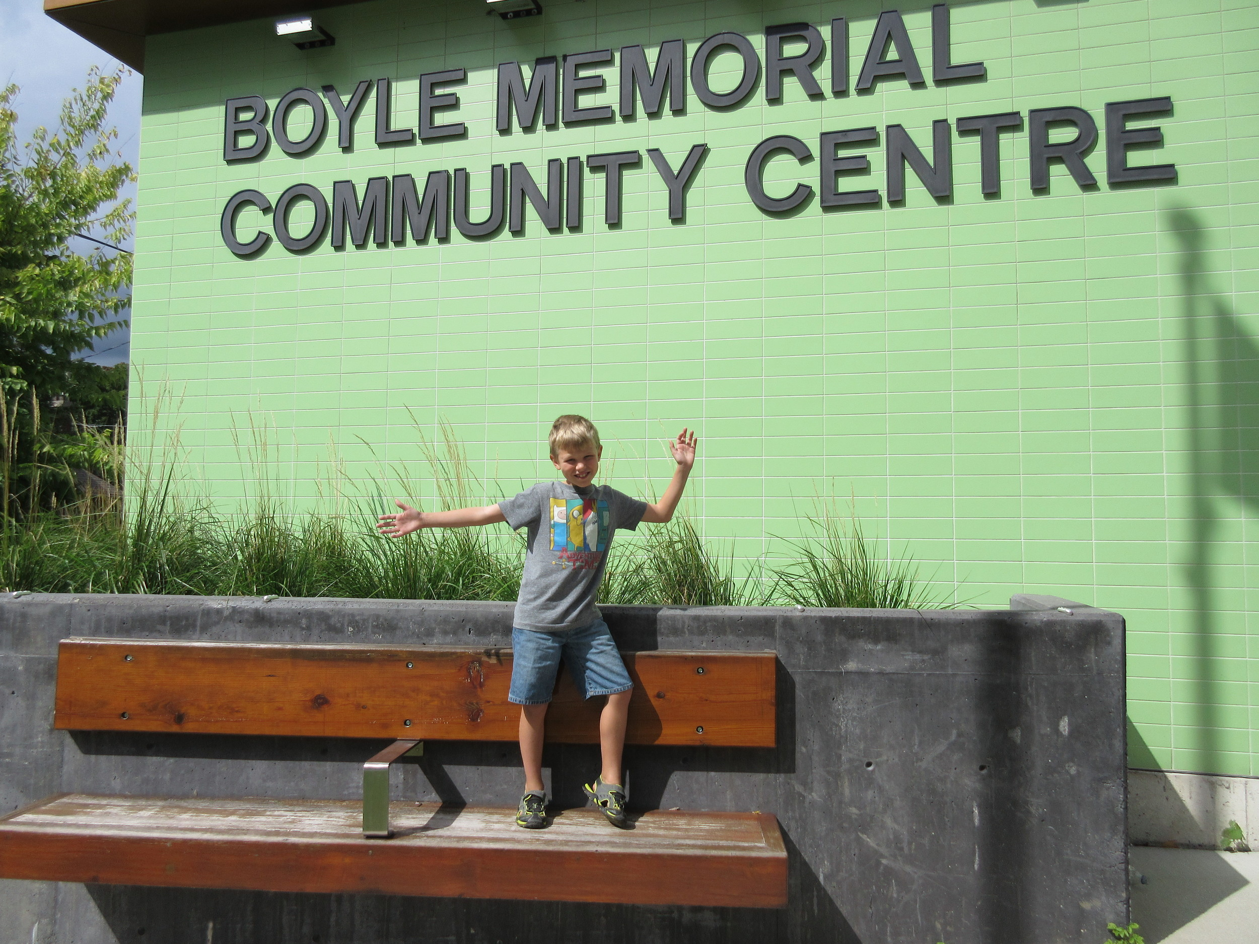 """""""Boyle is a lot of fun to go to. You can go to SHAC, you can play in the field and do girl guides there."""""""