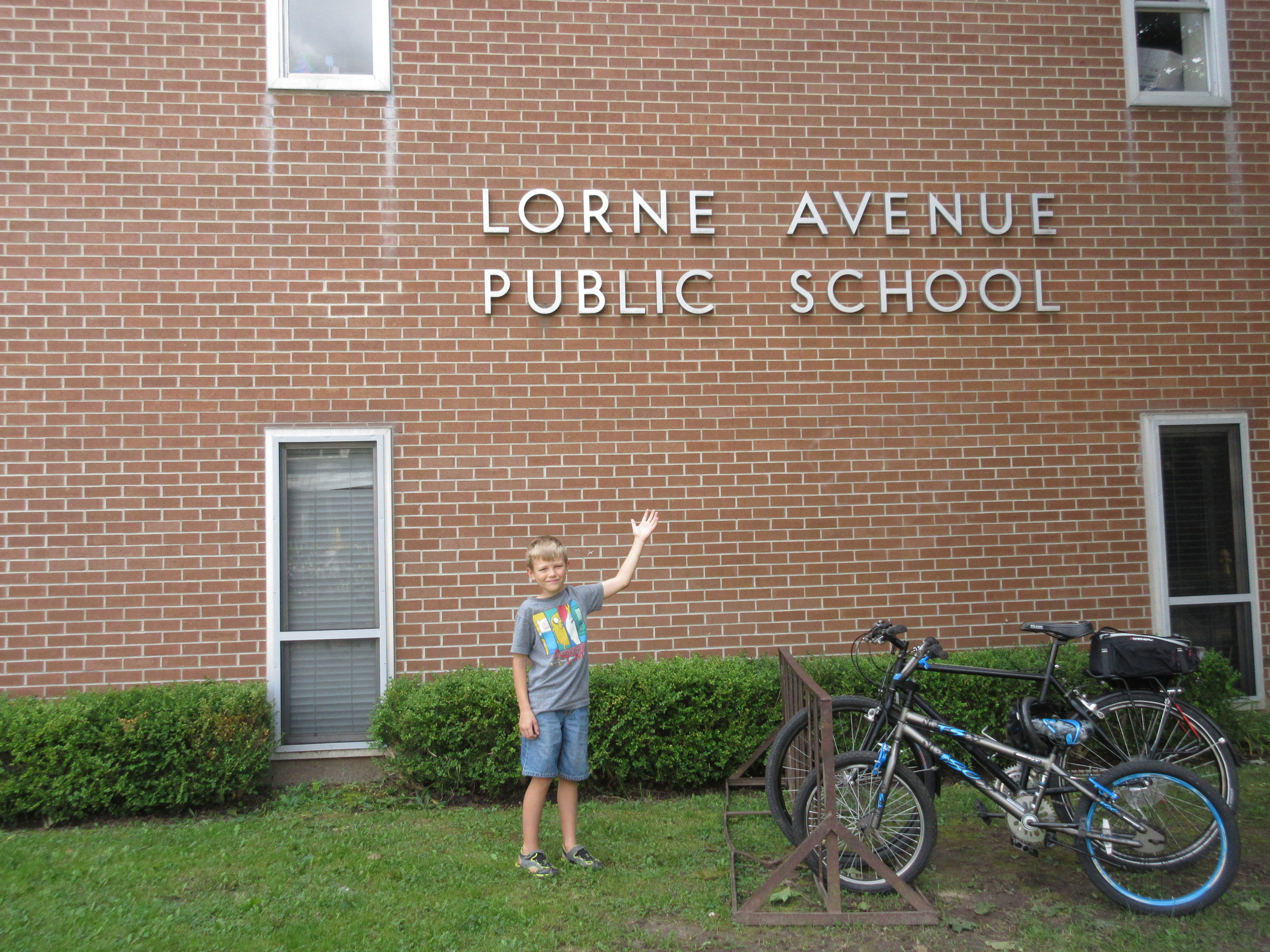 """""""Lorne Ave Public School is a really awesome school. Too bad it's shutting down."""""""