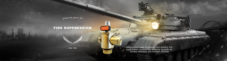p  recision machining - firetrace fire suppression components