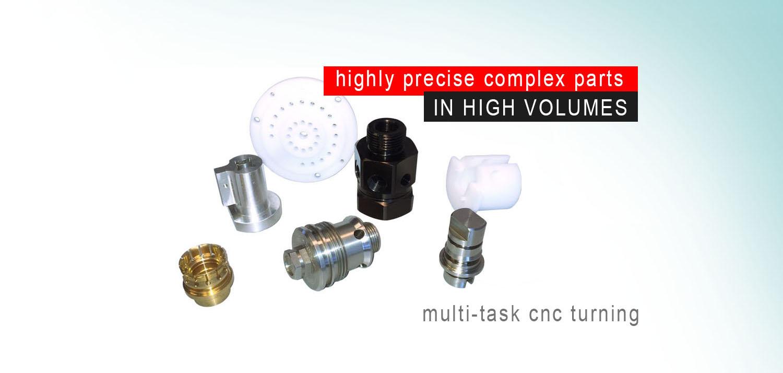 cnc machining - complex parts
