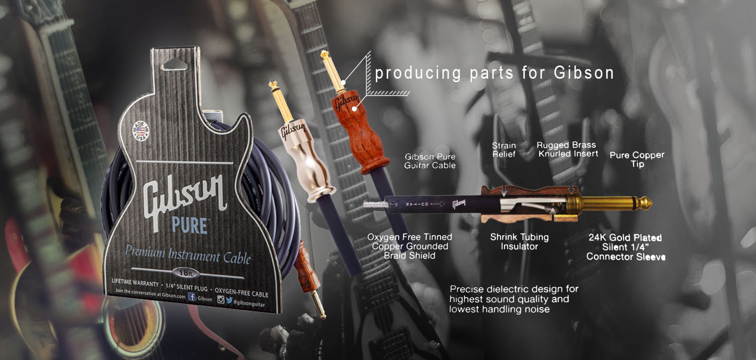 cnc machining - gibson guitar components