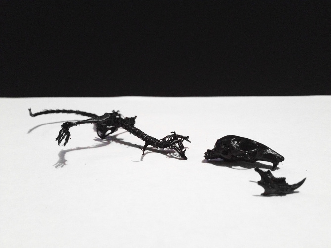 Muse  Rubberined Mouse Skeleton
