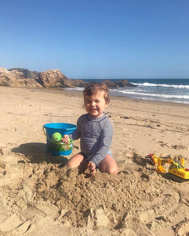 Waves + Sand = Big Smiles! #crystalcovestatepark
