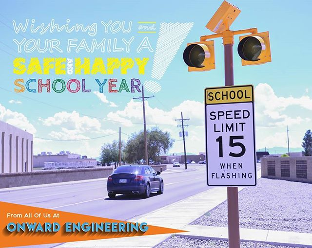 In our business of providing engineering and construction services, safety is our number one priority. With the 2017 Fall school season underway we would like to remind our communities to maintain safe and slow driving speeds when passing through school zones. Follow the link for 7 easy tips on driving in and around school zones, and have a happy school year!  https://driving-tests.org/beginner-drivers/keep-the-kiddos-safe-how-to-drive-in-and-around-school-zones/  #schoolsafetyzone #onwardsafety #happysafeschool