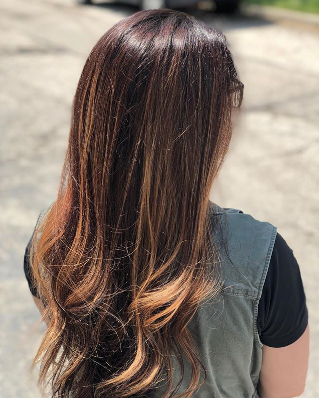 we love when our guest come in to the salon and say they are ready for a spring look! transformation thursday! and an afternoon spent at the color bar  hair by @rachellemyarnell  @hairendipity_rachelle  @paulmitchellohiowv  @cosmoprofbeauty  #columbushairstylist #springhaircolor  #ohiostylist  #passionforhair