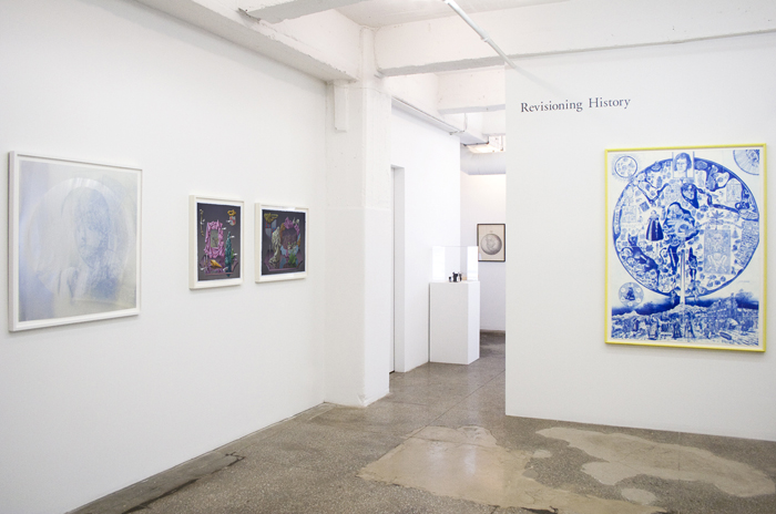 Installation View: Revisioning History