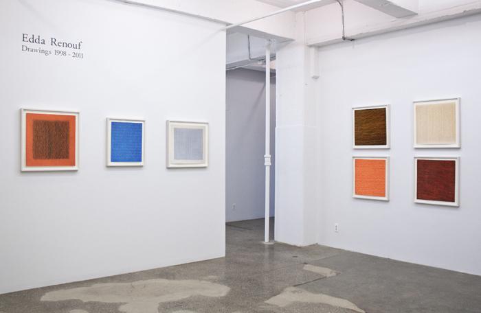 Edda Renouf:  Drawings 1998-2011