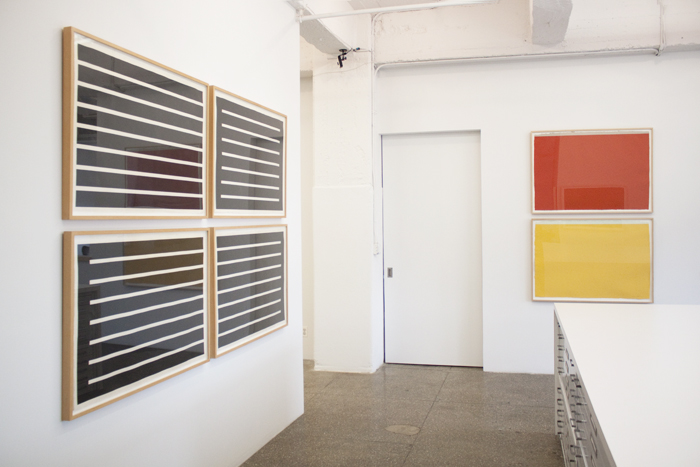 Installation View: Dan Flavin and Donald Judd