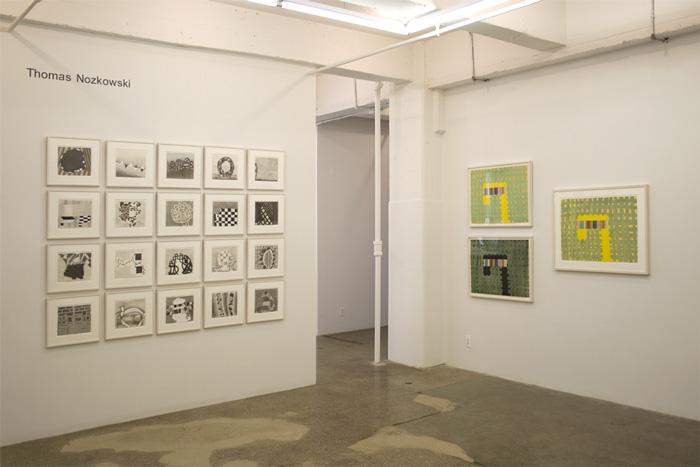 Installation View: Thomas Nozkowski: New Edition