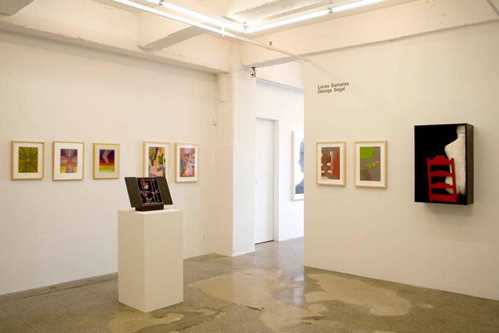 Installation View: Lucas Samaras and George Segal