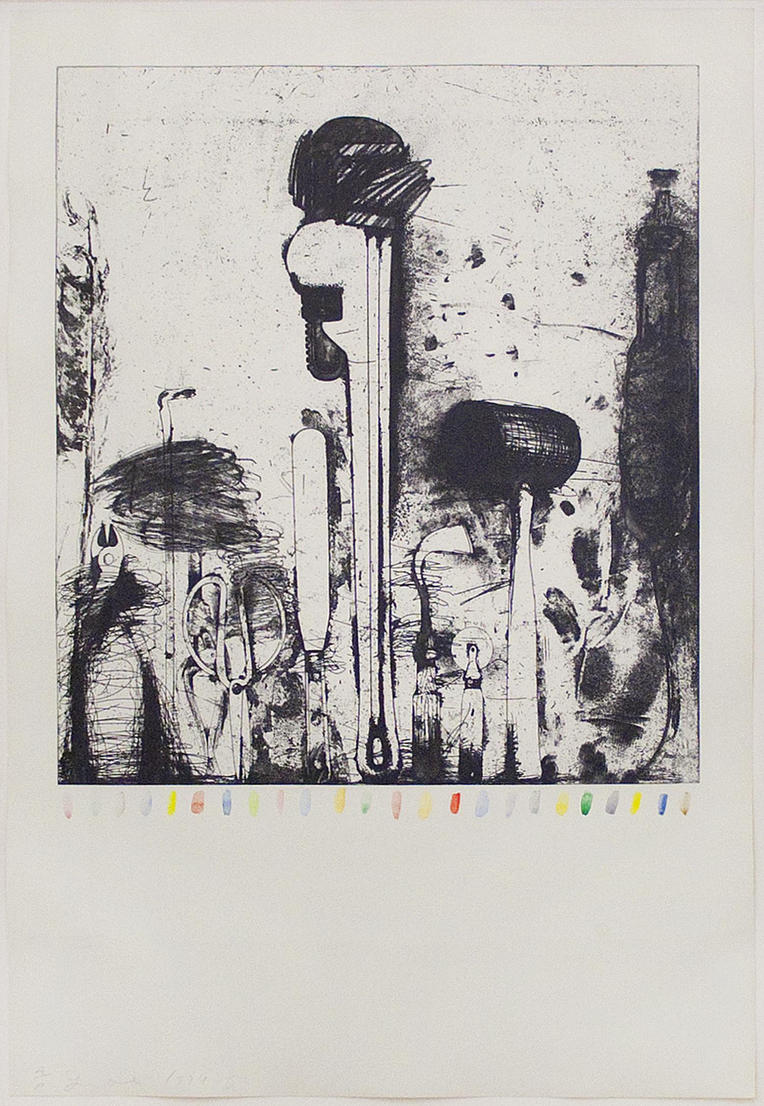 Piranesi's Watercolor Marks