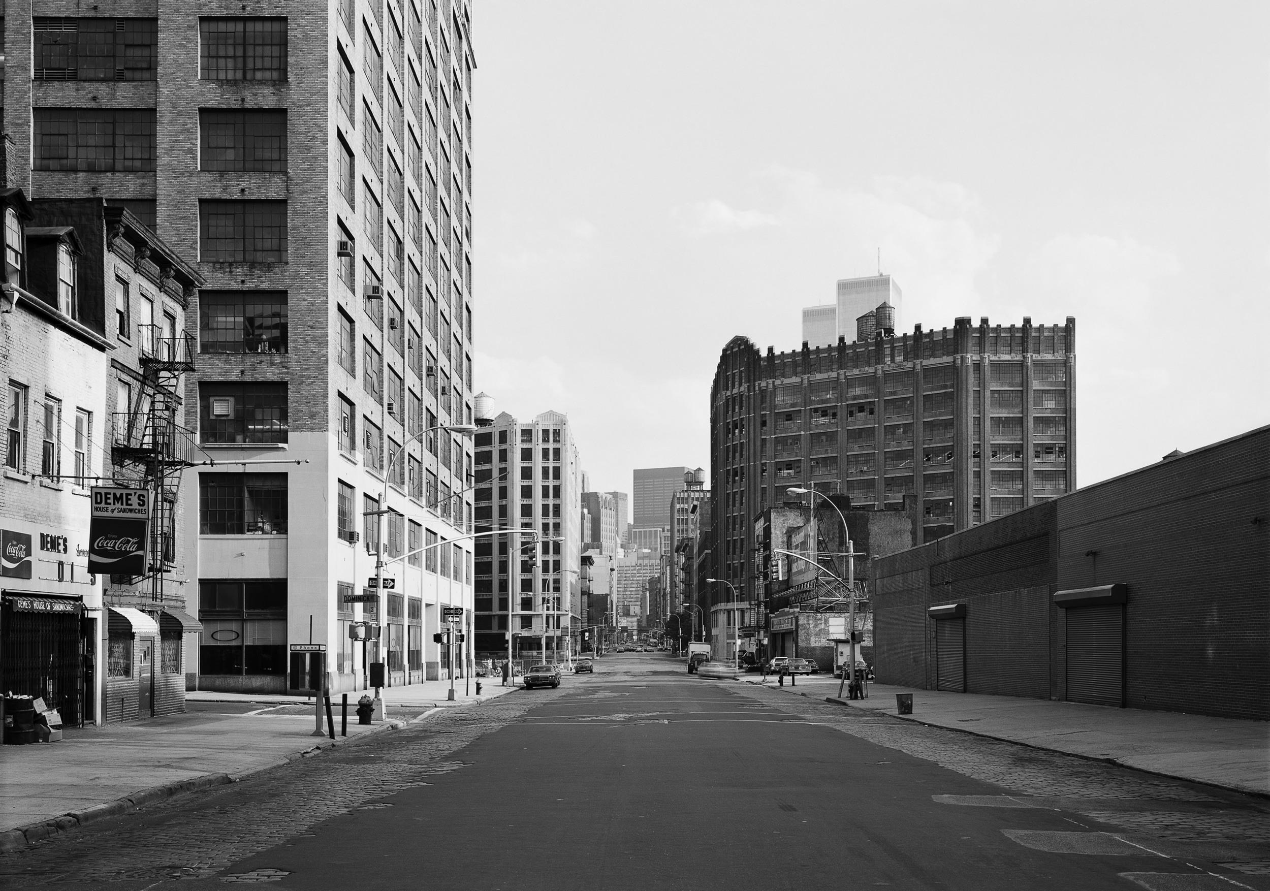 Hudson Street at Dominick Street, New York/Tribeca