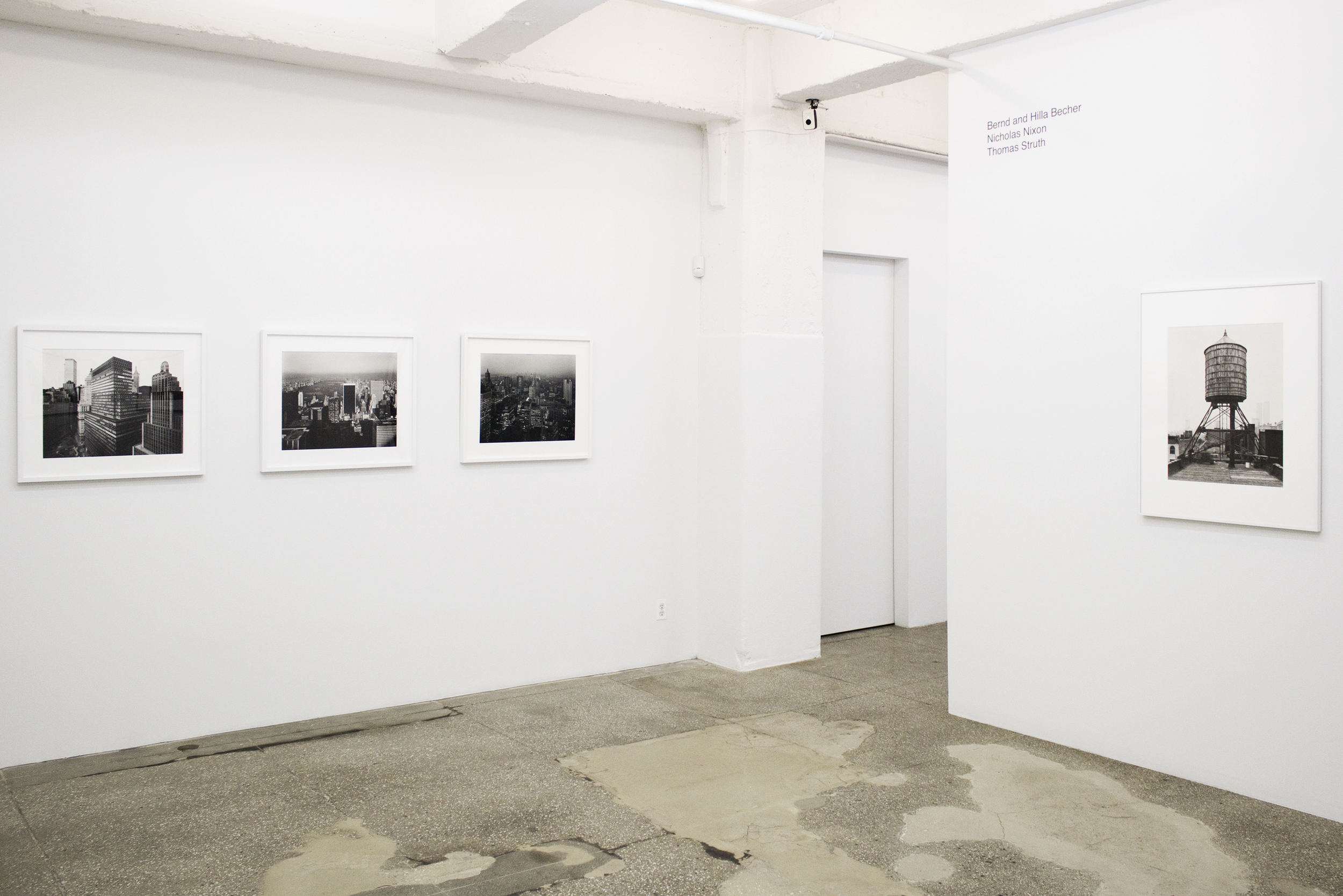Installation View: New York Topographics