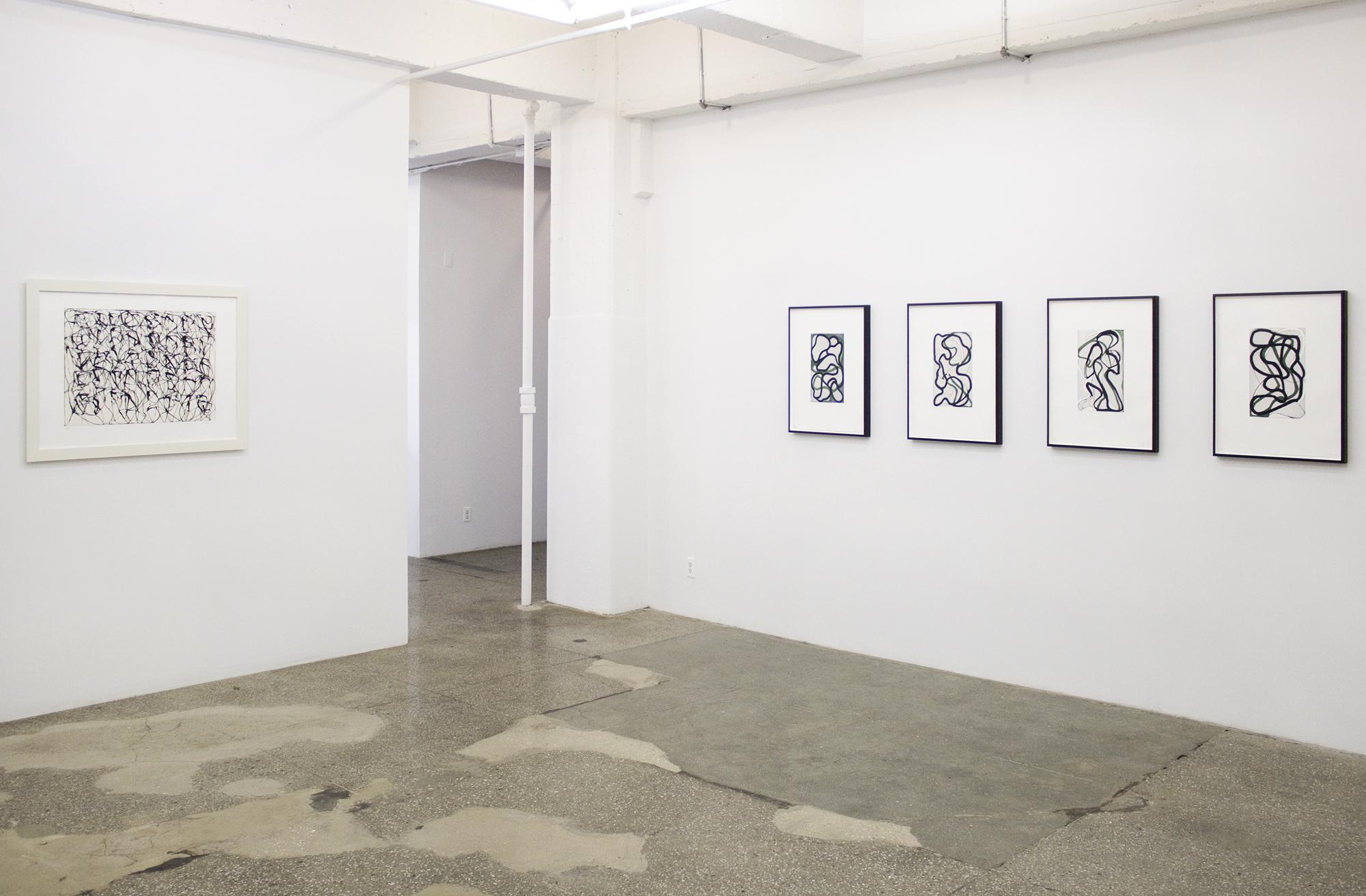 Installation View: Brice Marden: Prints