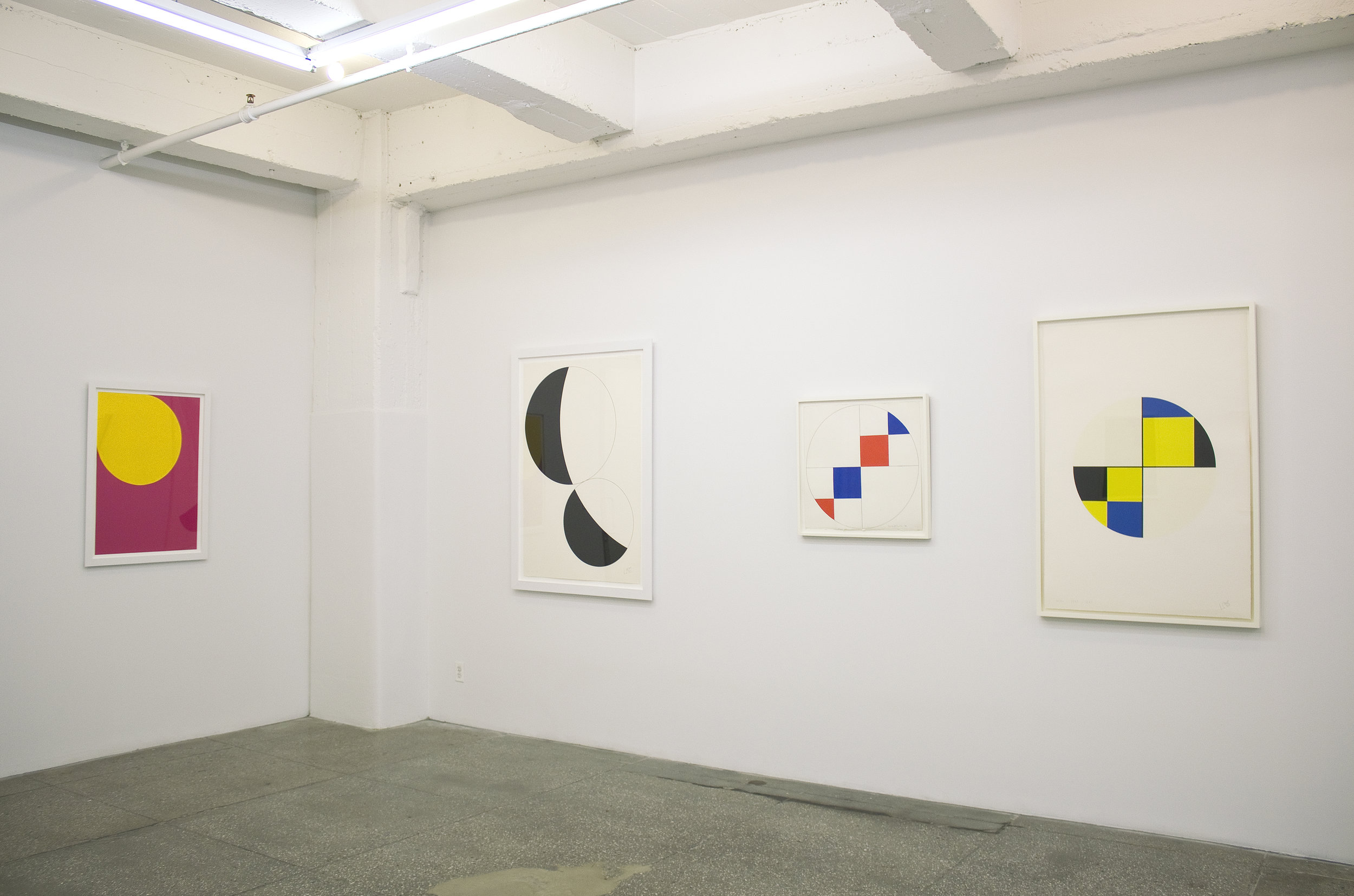 Installation View: Leon Polk Smith: Prints and Related Works