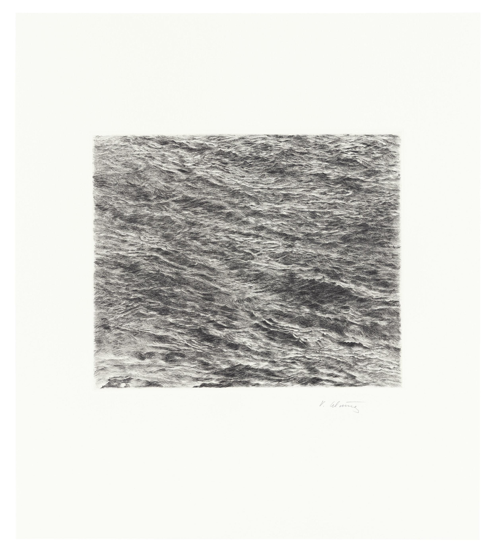 Untitled (Ocean Drypoint)