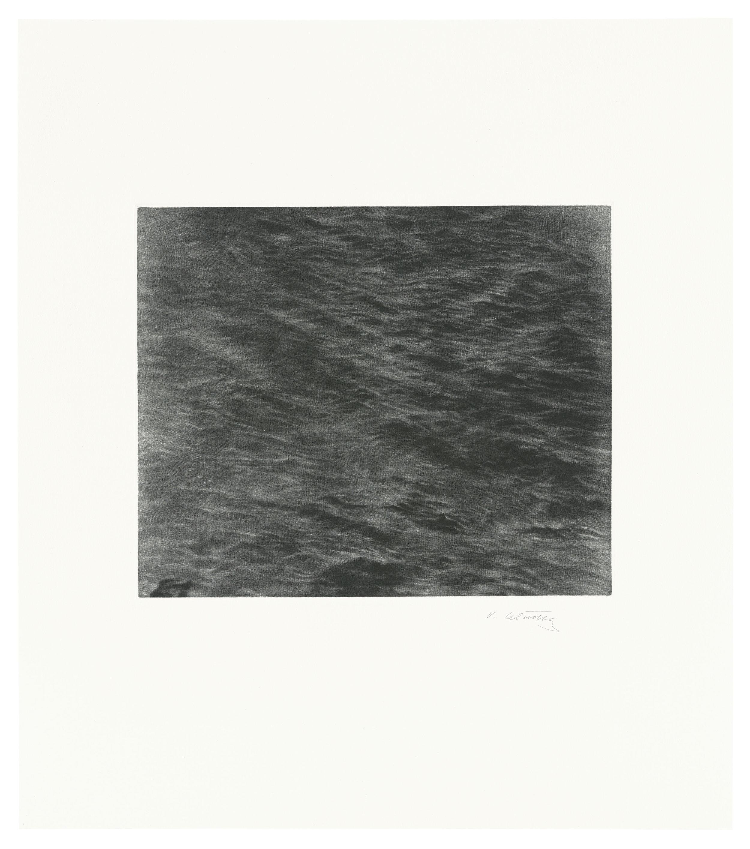 Untitled (Ocean Mezzotint)