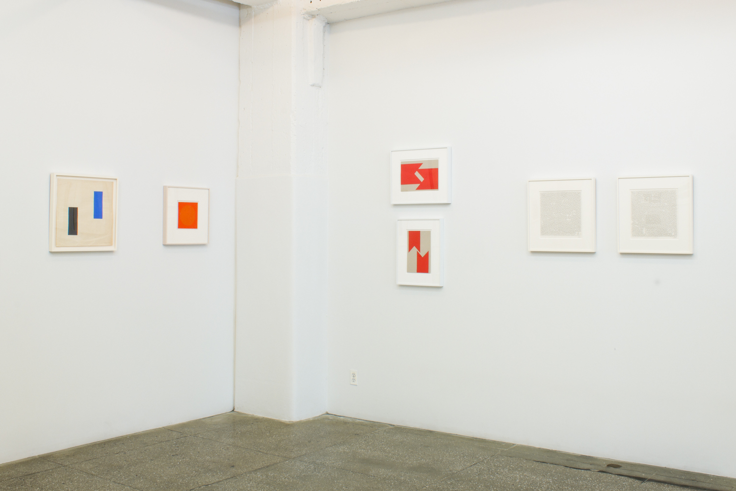 Installation View: Vera Molnar: Drawings 1949-1986