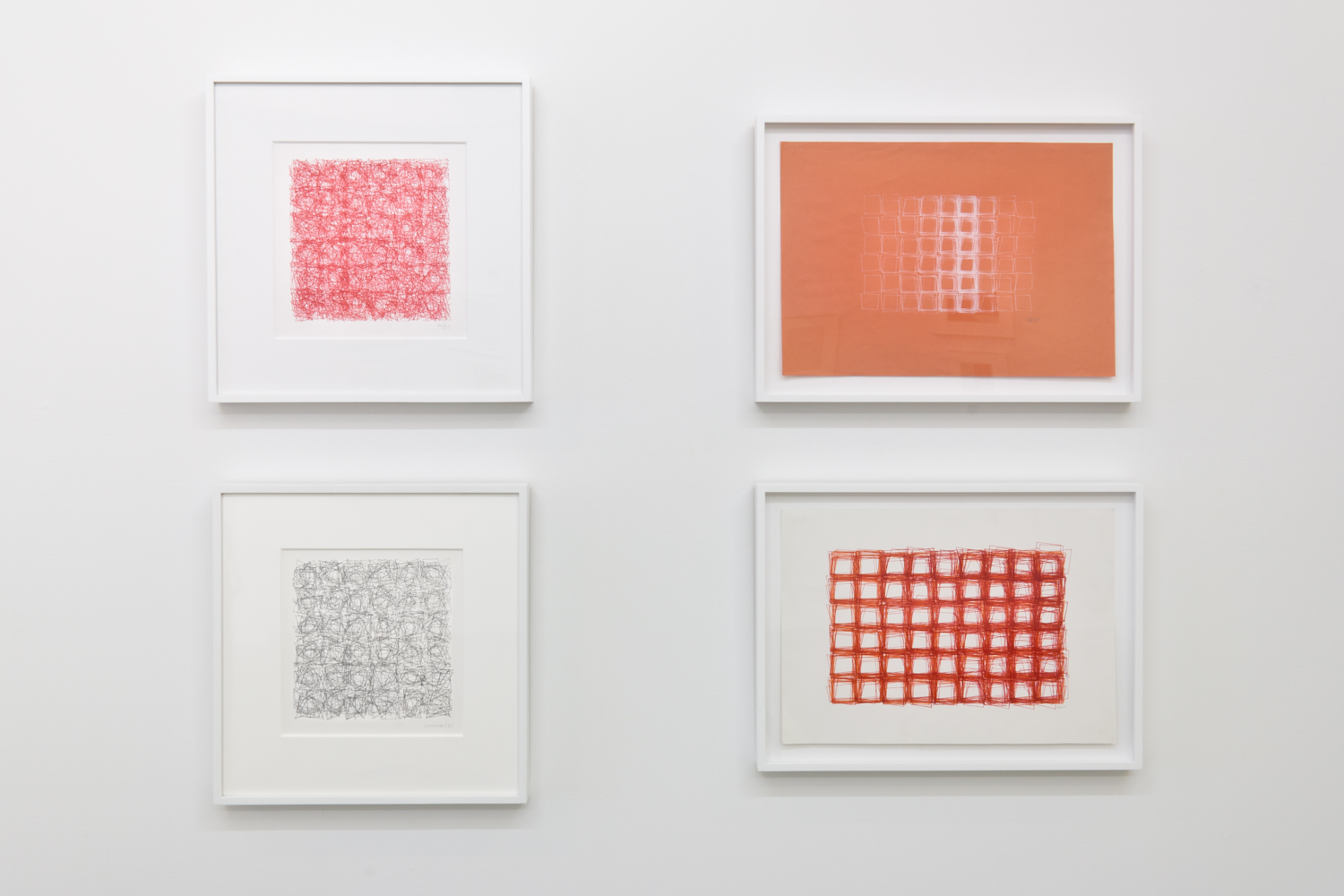 Installation View: Vera Molnar Drawings 1949 - 1986