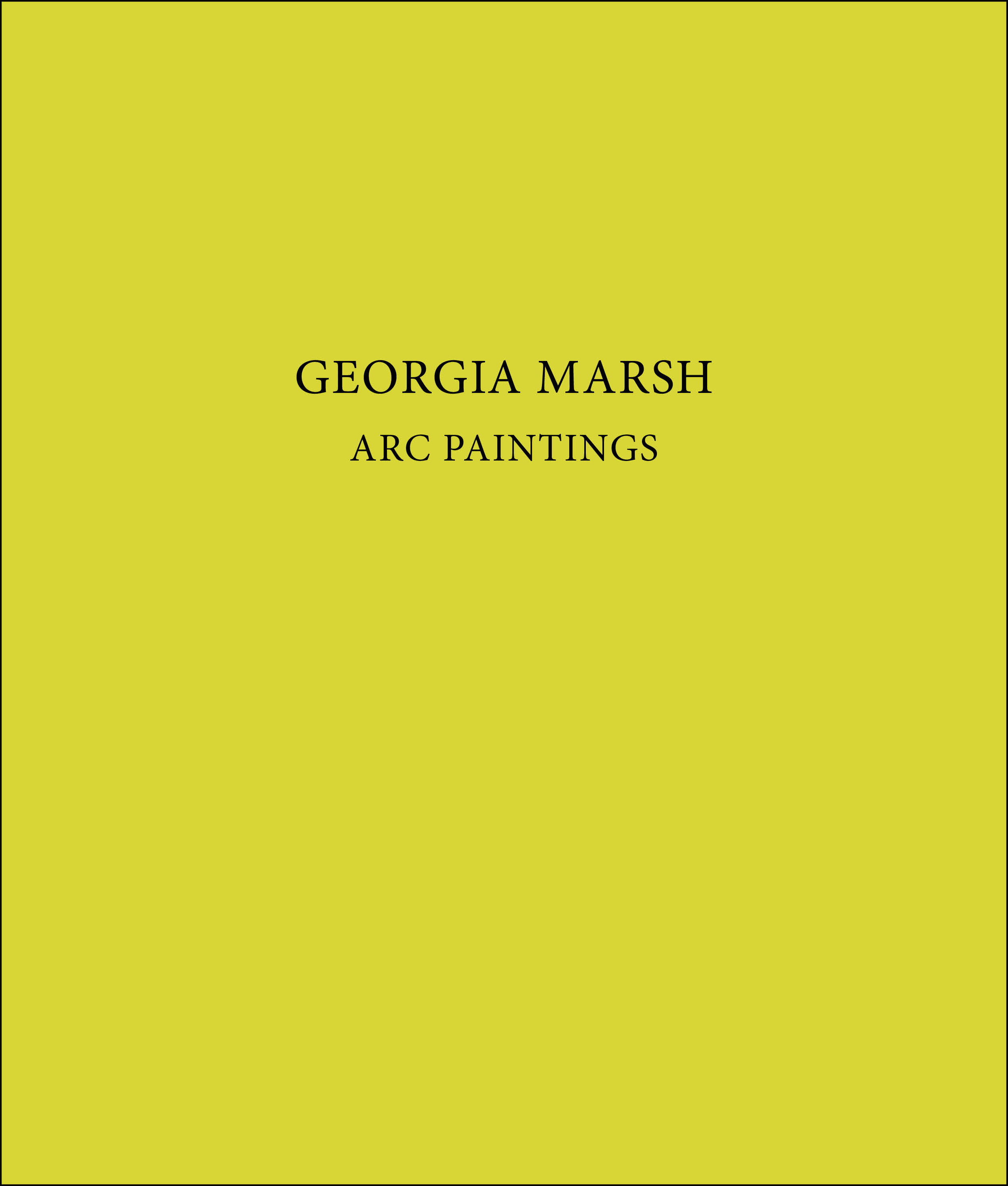 Georgia Marsh
