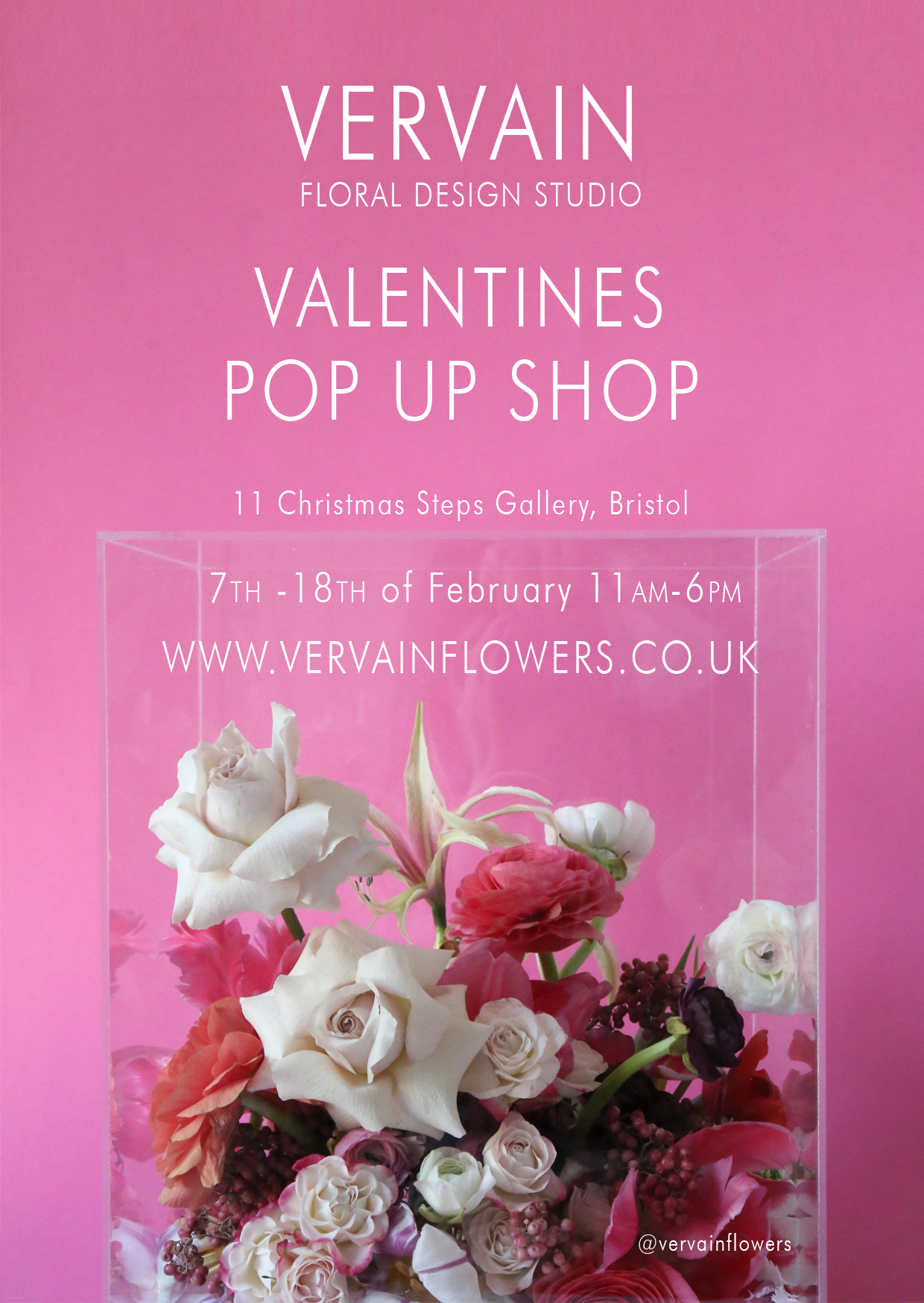 vervain pop up shop bristol 2017