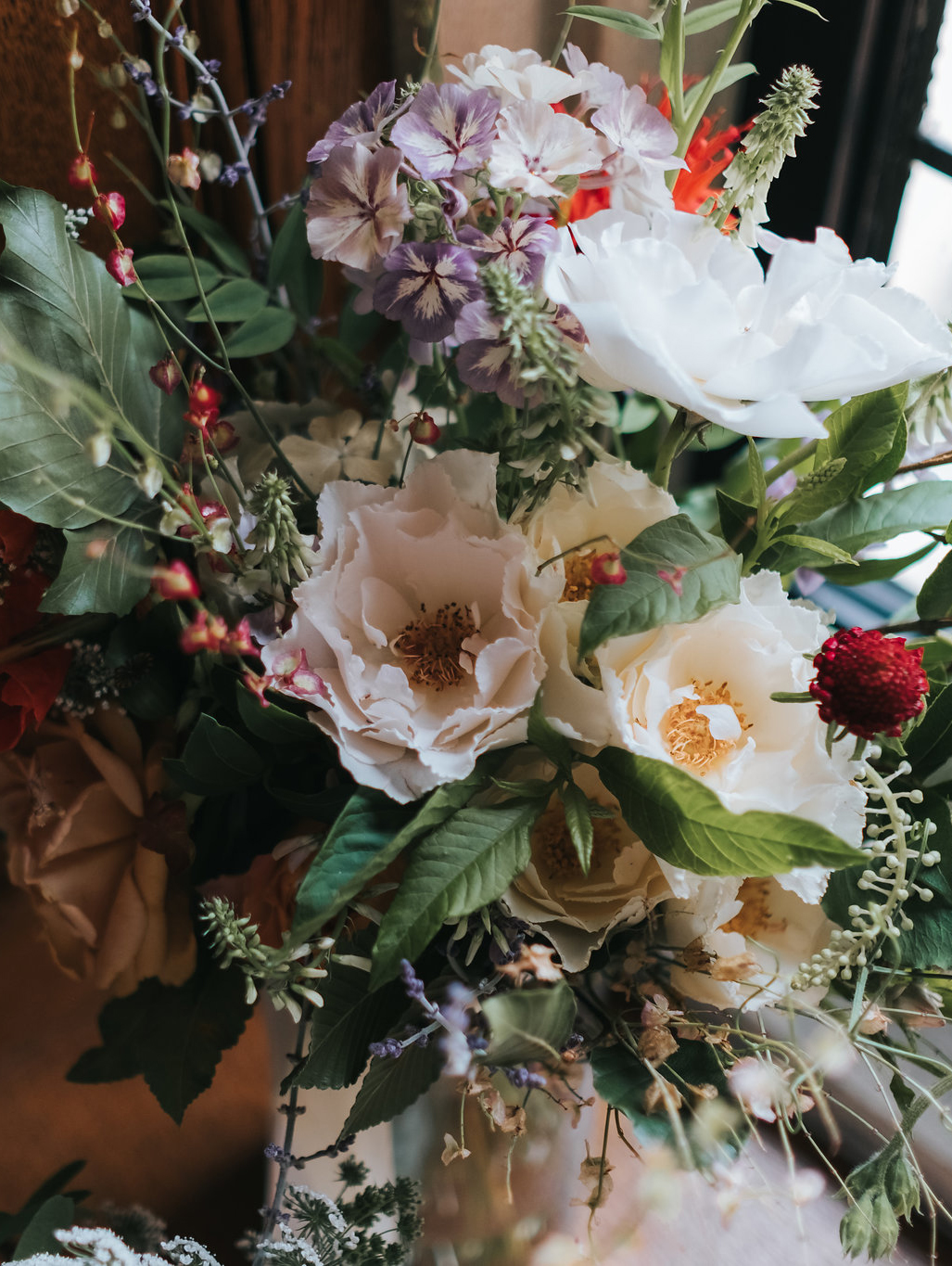 wedding flowers by vervain