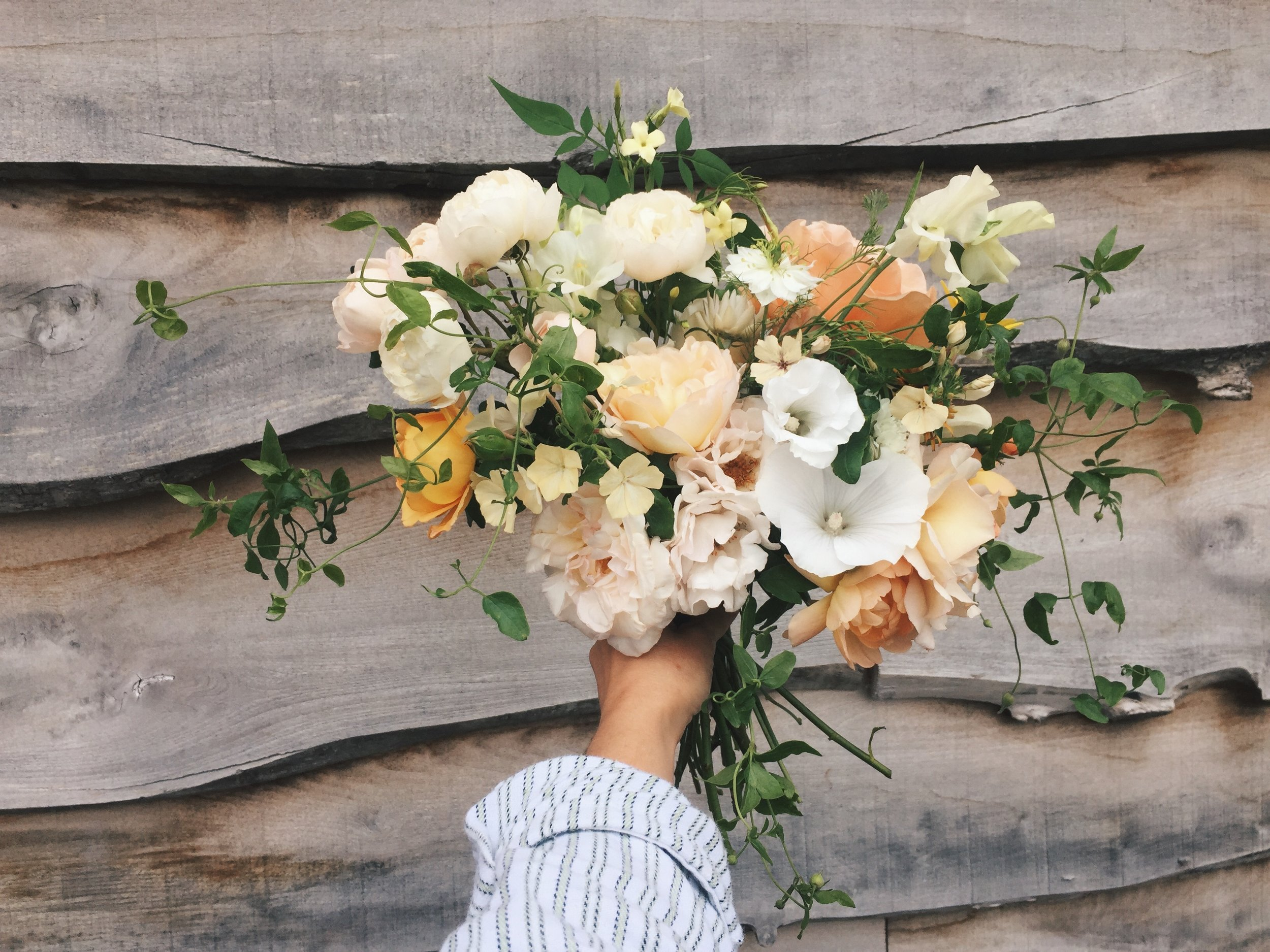 vervain bridal bouquet the best of summer