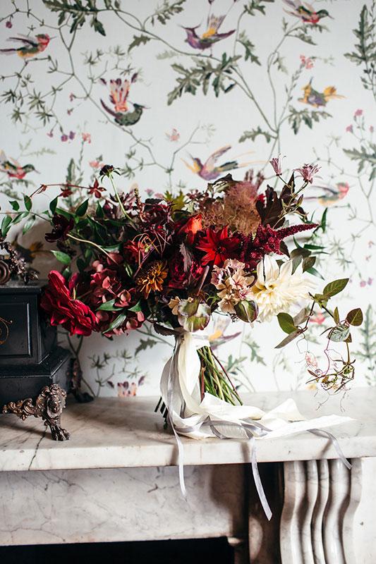 Vervain unique autumnal wedding in Devon