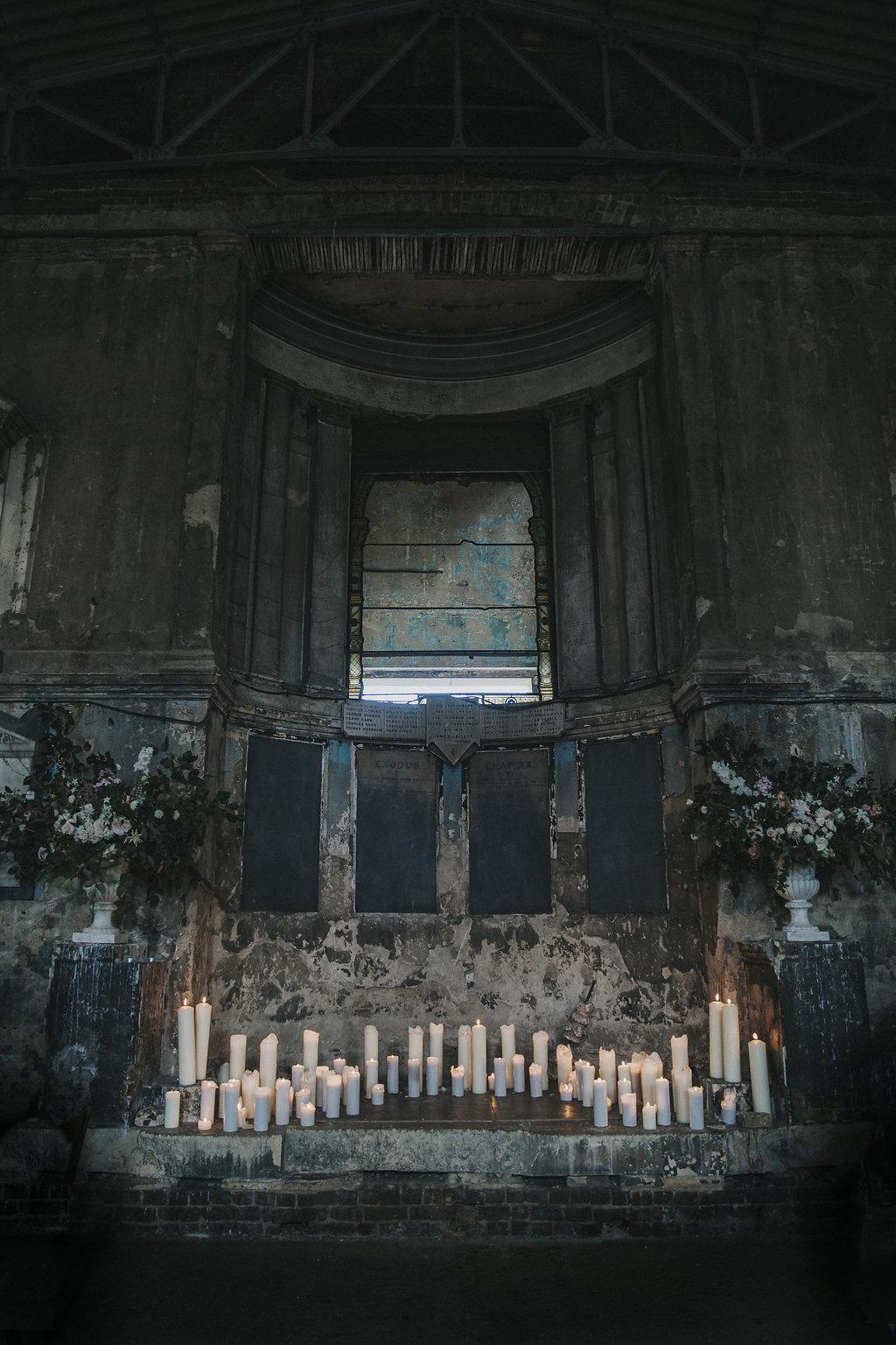 Vervain Asylum Chapel London Wedding