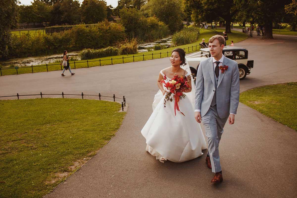 Vervain unique vibrant wedding flowers in London