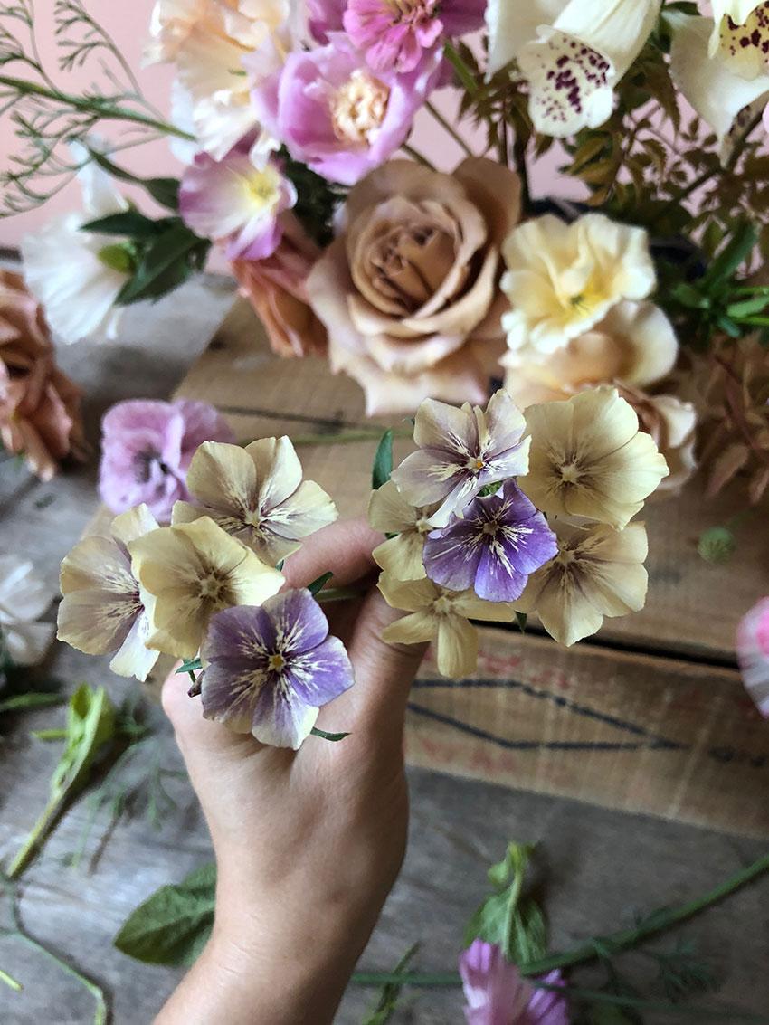 growing - homegrown flowers