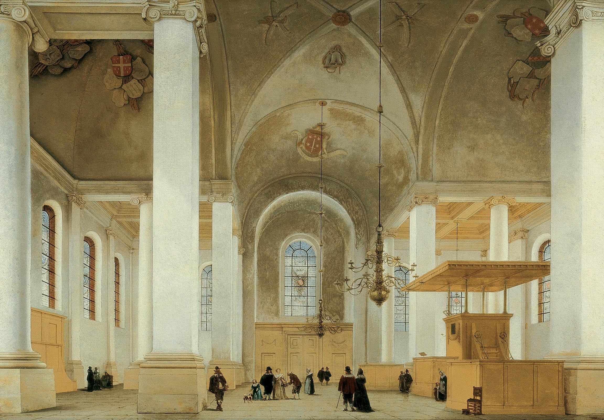 Nieuwe Kerk Haarlem - 1649 ~ by Jacob van Campen. More.