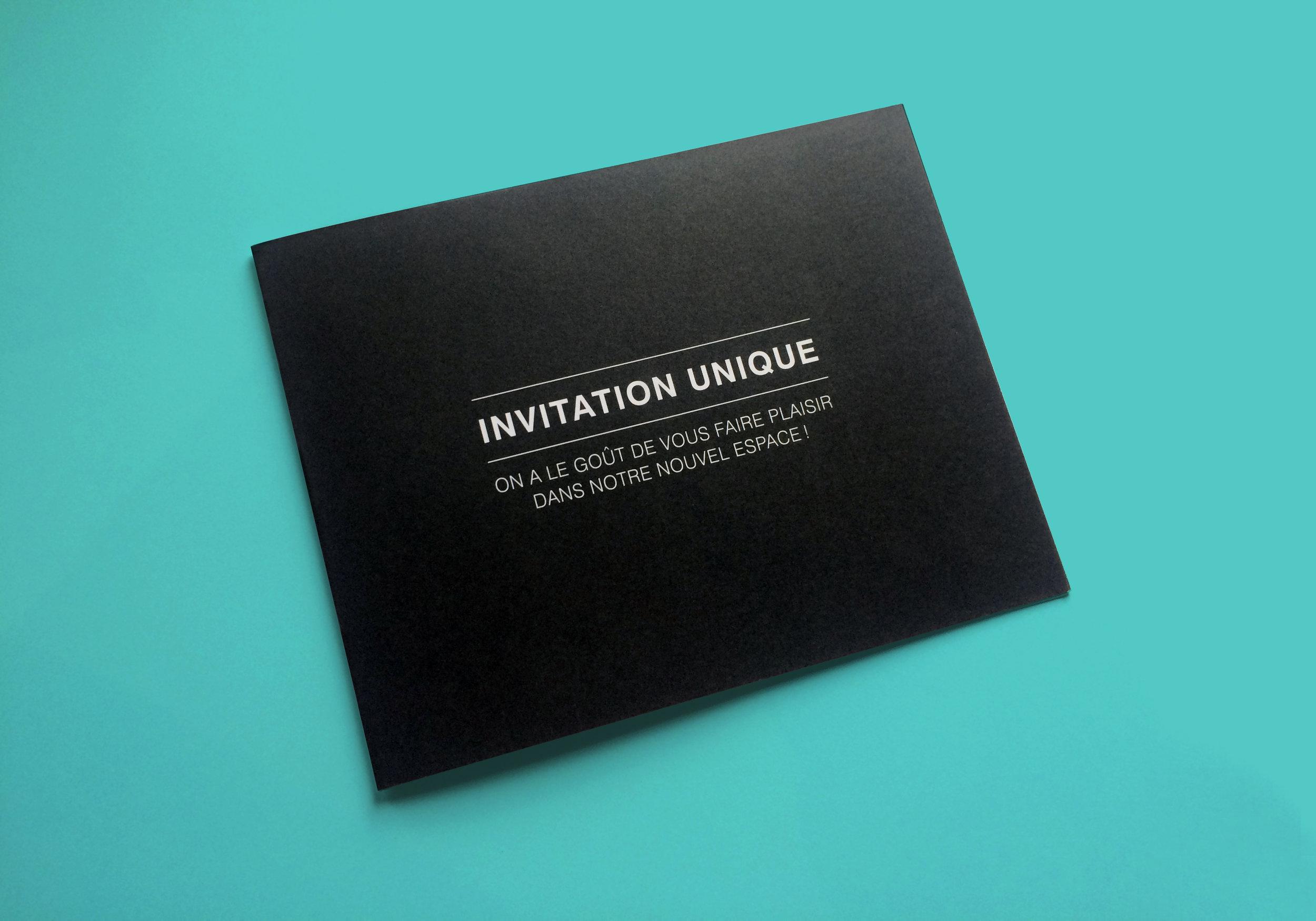 Invitation personnalisée