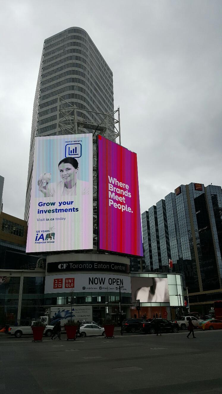 Affichage numérique / TEC Tower / Toronto