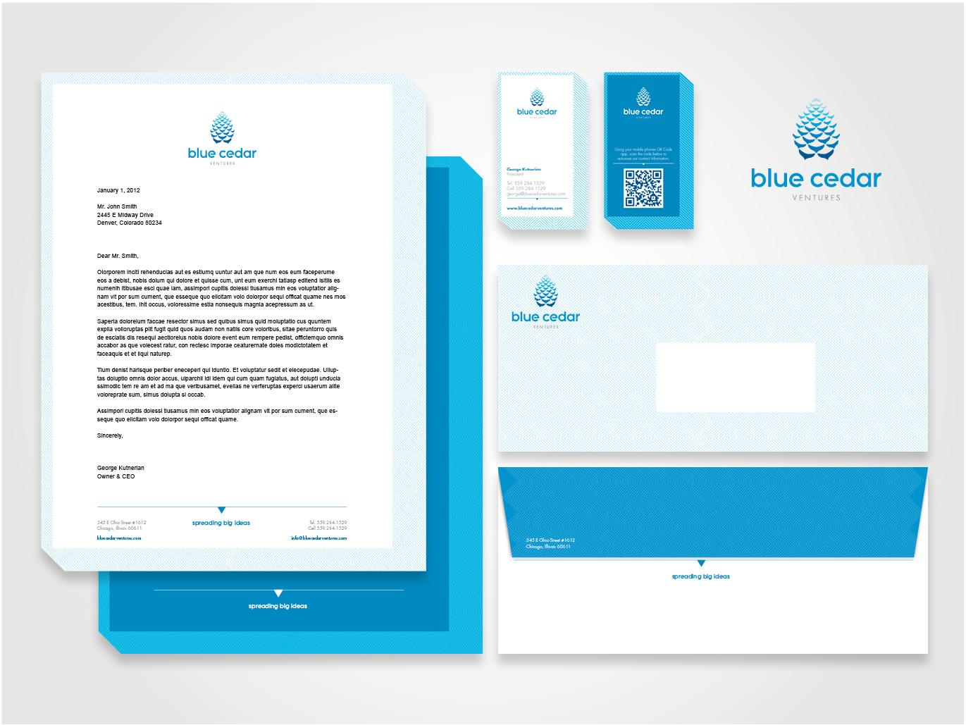 BlueCedarVenturesStationeryPackage