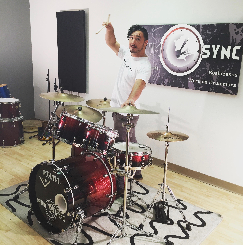 "Kyle Schweikhard   Owner/Drummer/Clinician /Author  ""Dude!"""