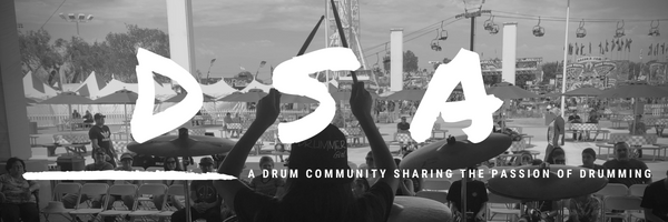 DSA Drummers rocking the 2018 Fair - Day 1