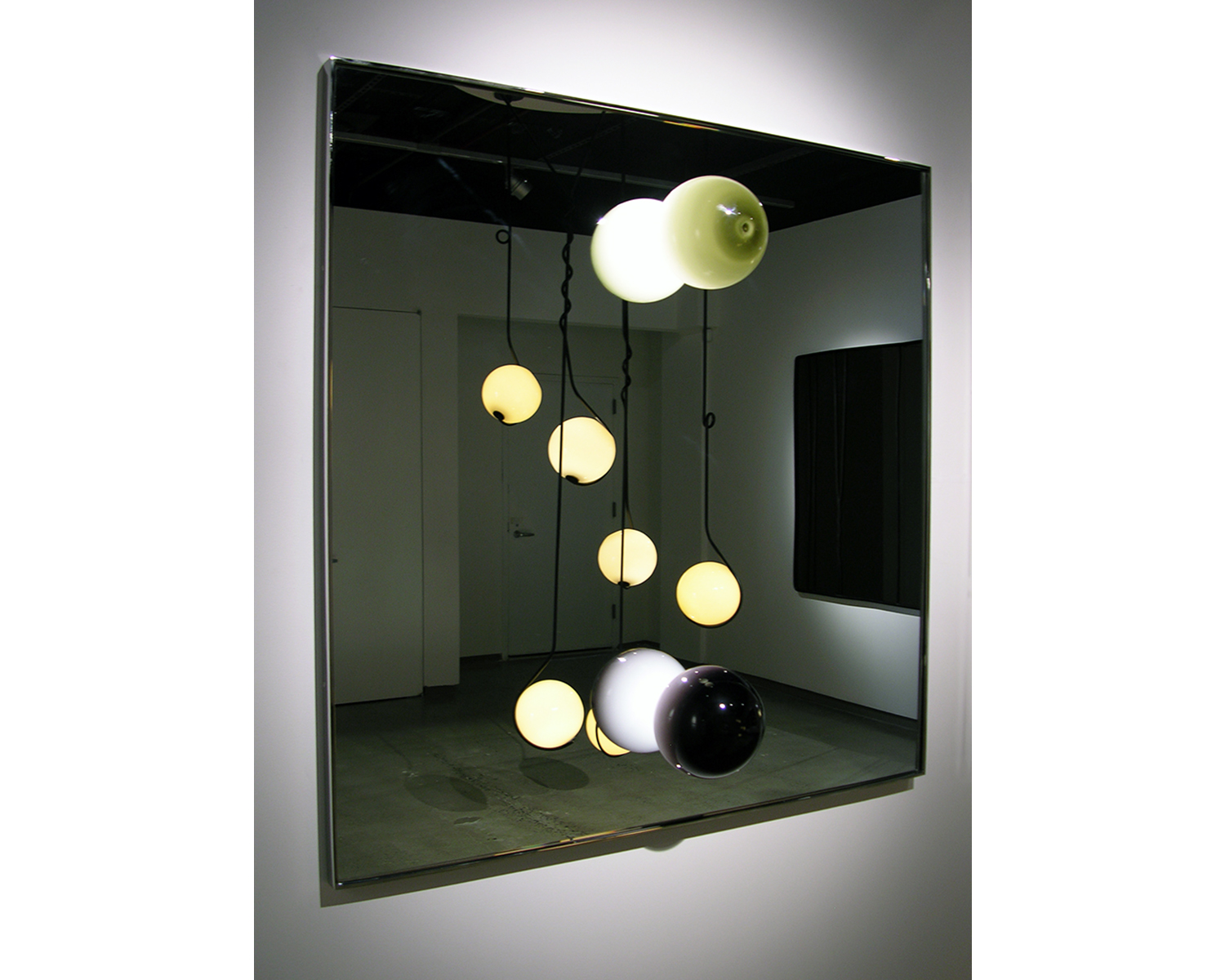 LIGHTED MIRROR-TWO LIGHTS