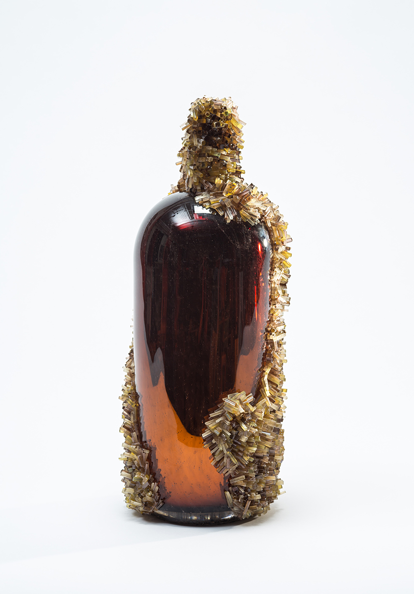 ENCRUSTED SHIPWRECK MALLET BOTTLE