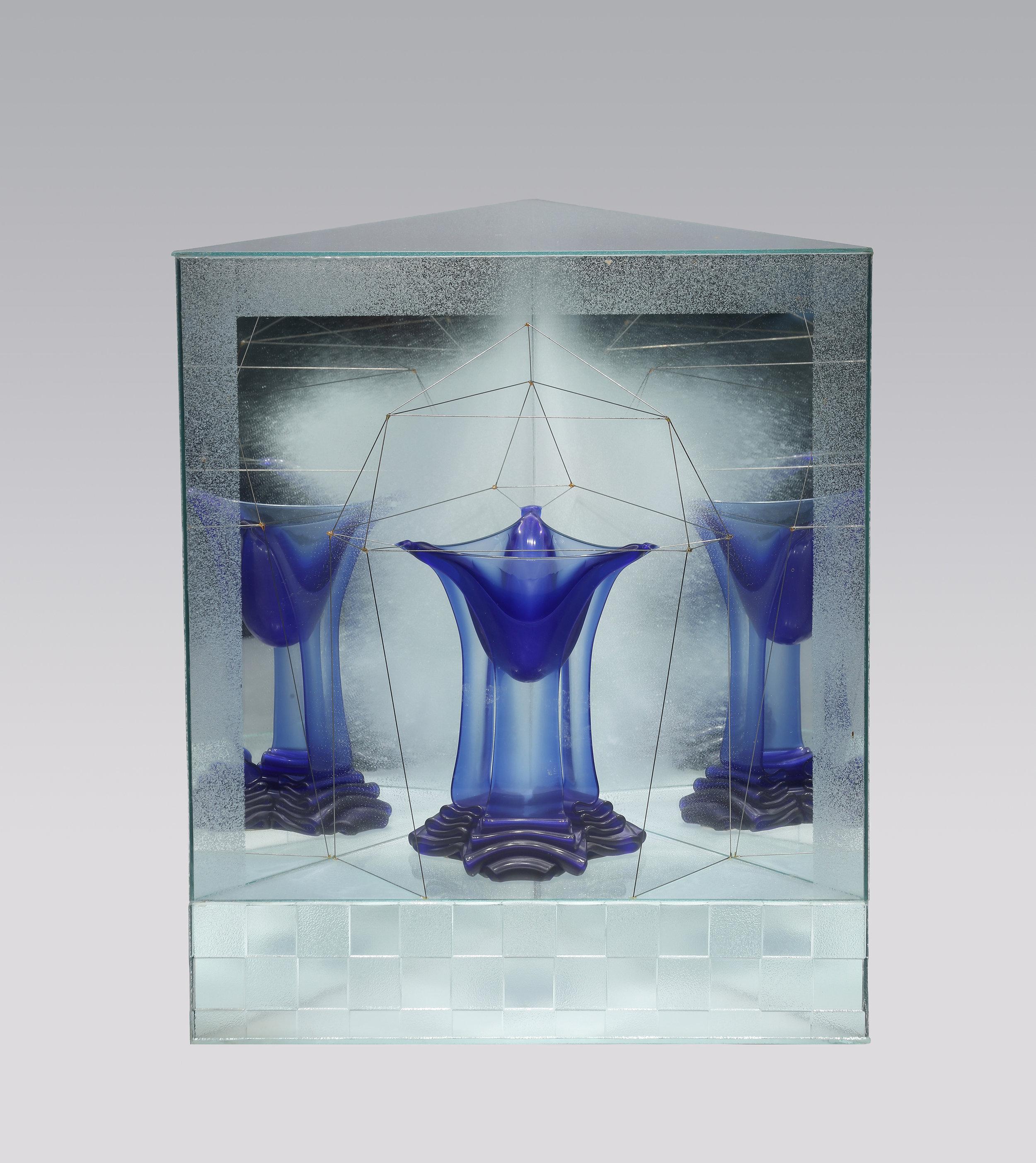 BLUE LIQUID CRYSTAL