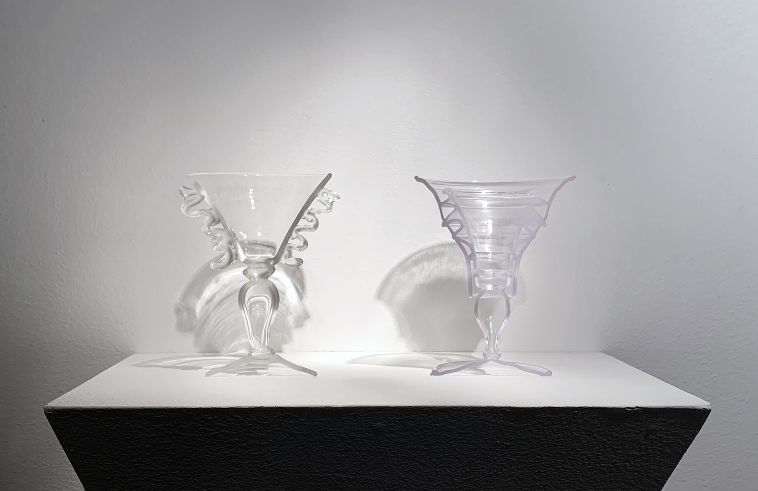 PLATE 25, SMALL GOBLET WITH FRILLY HANDLE