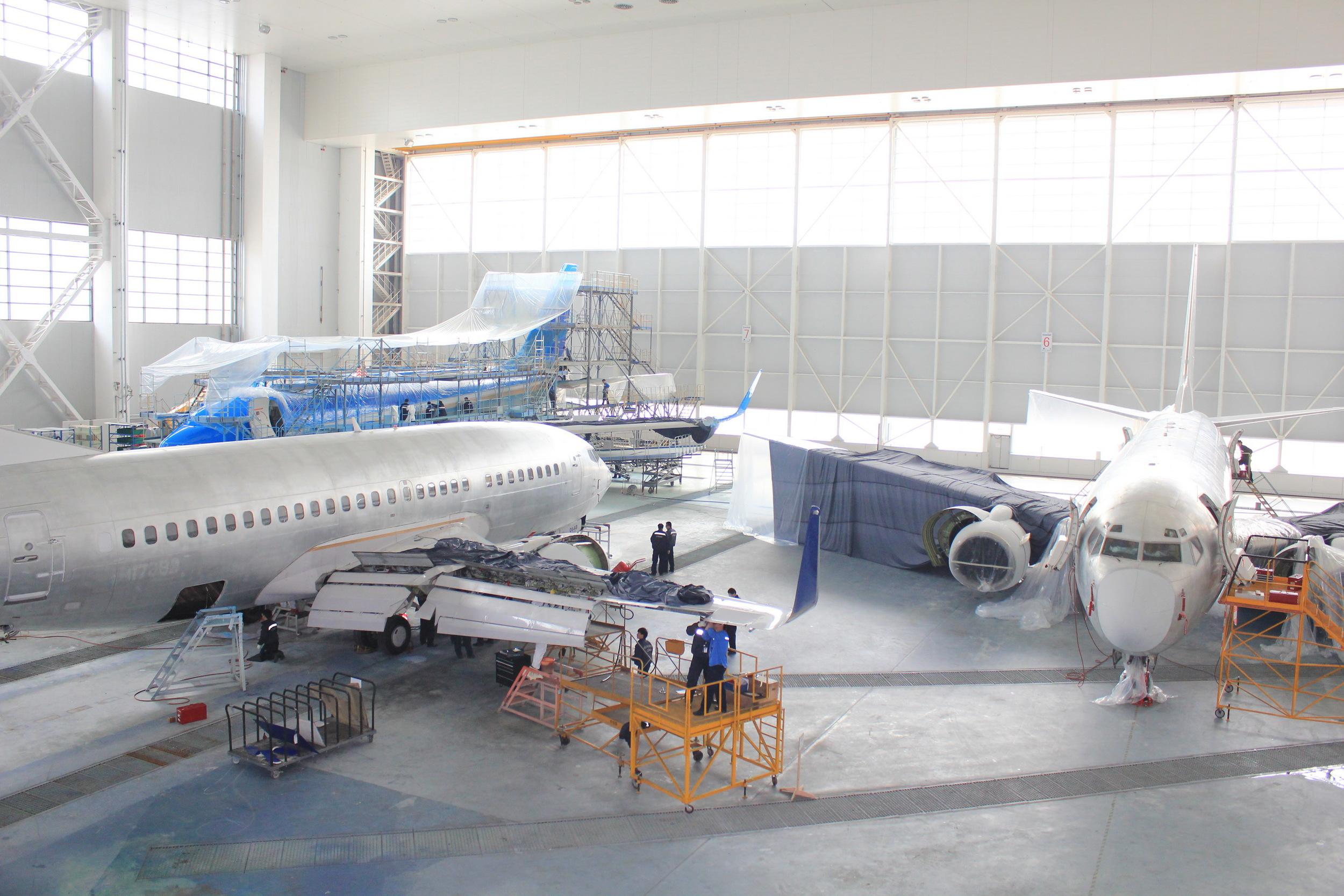 Boeing 737 Next-Gen MRO, C & D Checks